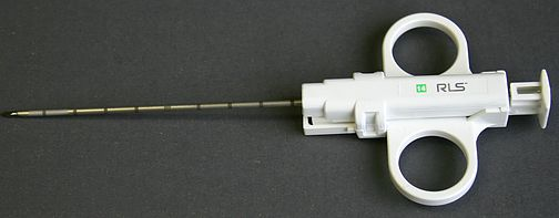 AccuCore Single Action Biopsy Device